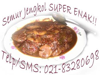 Jengkol Geger - Semur Jengkol ala Betawi